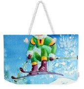 The Aerial Skier - 9 Weekender Tote Bag