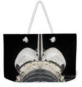 The Aft Portion Of The Space Shuttle Weekender Tote Bag by Stocktrek Images