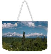 The Alaska Range Weekender Tote Bag