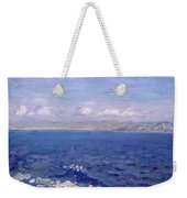 The Albanian Sea Weekender Tote Bag