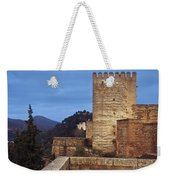 The Alcazaba The Alhambra Weekender Tote Bag
