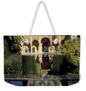 The Alhambra Palace Of The Partal Weekender Tote Bag