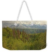 The Alsek Mountains Along The Haines Weekender Tote Bag