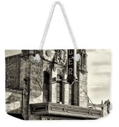 The Ambler Theater In Sepia Weekender Tote Bag