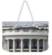 The American Flag Flies At Half-staff Weekender Tote Bag