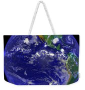 The Americas And Hurricane Andrew Weekender Tote Bag by Stocktrek Images
