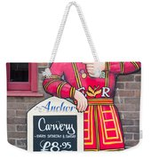 The Anchor Pub Sign Weekender Tote Bag