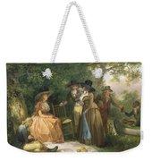 The Angler's Repast  Weekender Tote Bag by George Morland