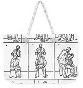 The Anthropometrical Signalment, 1896 Weekender Tote Bag
