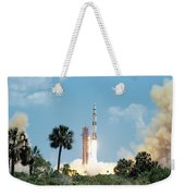 The Apollo 16 Space Vehicle Is Launched Weekender Tote Bag