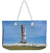 The Apollo Saturn 501 Launch Vehicle Weekender Tote Bag