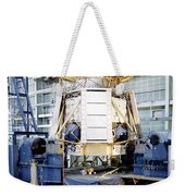 The Apollo Telescope Mount Undergoing Weekender Tote Bag by Stocktrek Images