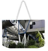 The Area Below The Capsules Of The Singapore Flyer Weekender Tote Bag