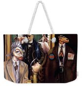 The Art Critic Weekender Tote Bag