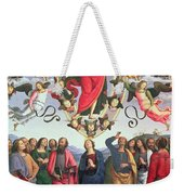 The Ascension Of Christ Weekender Tote Bag by Pietro Perugino