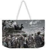 The Attack Of The Zombie Tourists Weekender Tote Bag