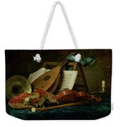The Attributes Of Music Weekender Tote Bag by Anne Vallaer-Coster