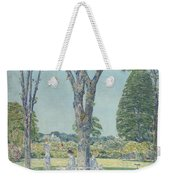 The Audition Weekender Tote Bag by Childe Hassam