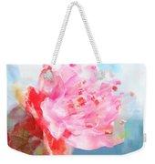 The Aura Of A Peach Blossom Weekender Tote Bag
