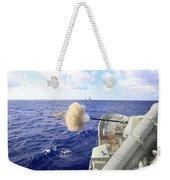 The Australian Navy Frigate Hmas Weekender Tote Bag