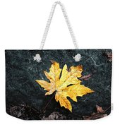 The Autumn Leaf Weekender Tote Bag