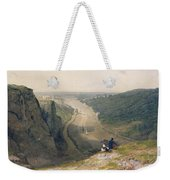 The Avon Gorge - Looking Over Clifton Weekender Tote Bag