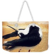 The Ballerina Bird Weekender Tote Bag