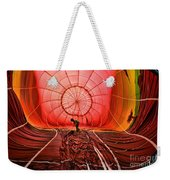 The Balloonist - Inside A Hot Air Balloon Weekender Tote Bag
