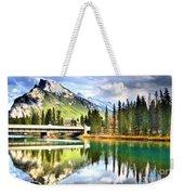The Banff Bridge Weekender Tote Bag