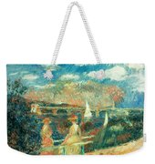 The Banks Of The Seine At Argenteuil Weekender Tote Bag