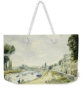 The Banks Of The Seine At Bougival Weekender Tote Bag
