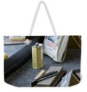 The Barber Shop 11 Weekender Tote Bag