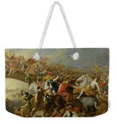 The Battle Between The Amazons And The Greeks Weekender Tote Bag