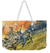 The Battle Of Gettysburg Weekender Tote Bag by Severino Baraldi