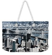 The Bay Bridge Weekender Tote Bag