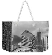 The Bean Chicago Illinois Weekender Tote Bag