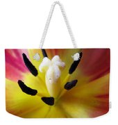 The Beauty From Inside Square Format Weekender Tote Bag