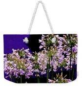The Beauty Of Flowering Garlic Weekender Tote Bag