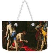The Beheading Of John The Baptist Weekender Tote Bag