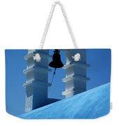 The Bell Tower In Mykonos Weekender Tote Bag