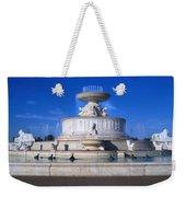 The Belle Isle Scott Fountain Weekender Tote Bag by Gordon Dean II
