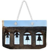 The Bells At The San Juan Capistrano Mission Weekender Tote Bag