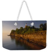 The Big Bay Point Lighthouse, Now A Bed Weekender Tote Bag