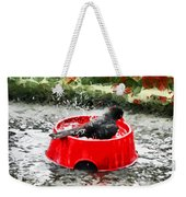 The Birdbath  Weekender Tote Bag
