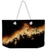 The Blast Wave Of A Nova Pulls Away Weekender Tote Bag