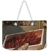 The Blessed Fish Market Weekender Tote Bag