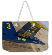 The Blue Angels Perform Over El Centro Weekender Tote Bag