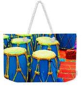The Blue Drums Weekender Tote Bag