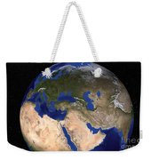 The Blue Marble Next Generation Earth Weekender Tote Bag by Stocktrek Images