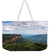 The Blue Mountains - Panoramic View Weekender Tote Bag